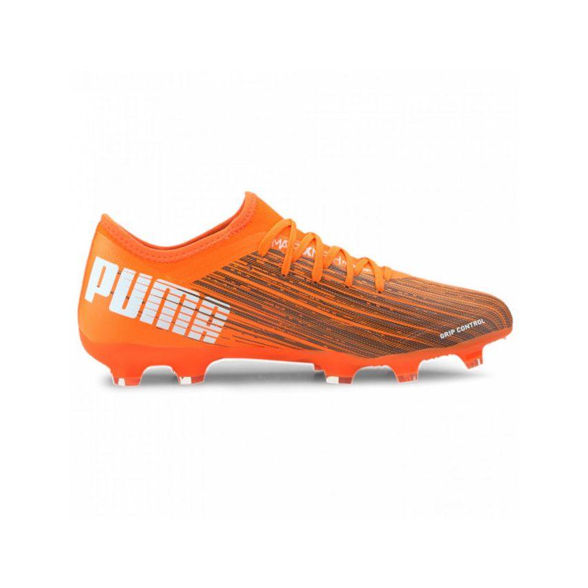 Chaussures Rugby Moulées Ultra 3.1 FG/AG Orange Terrain Sec - Puma